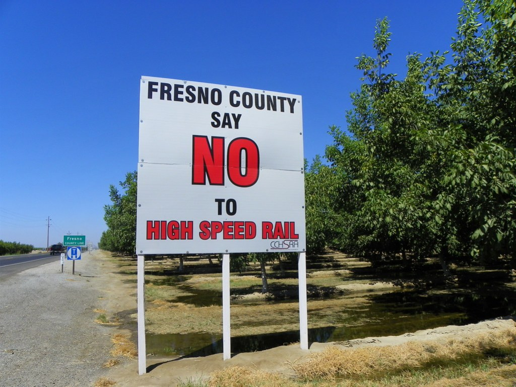 Fresno County Say NO to High Speed Rail