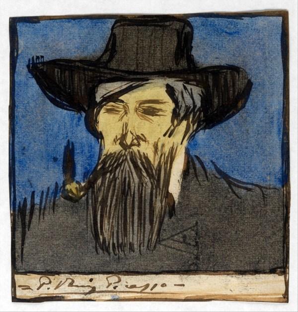 Picasso Pablo 1881-1973 - 1900 Painter Santiago Rus