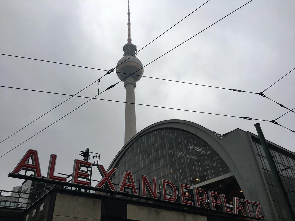 alexanderplatz station and tv