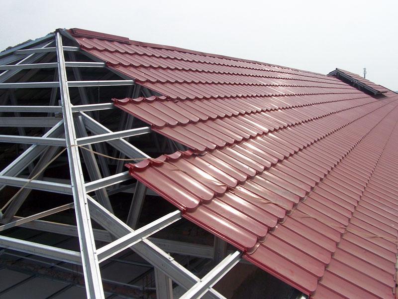 rangka baja ringan atap miring pemasangan mungkin benar jika flickr