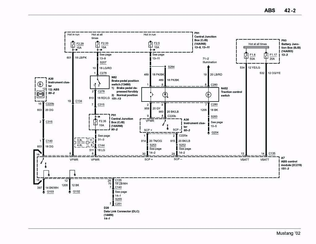 hight resolution of  mustang abs wiring diagram by scifi geek