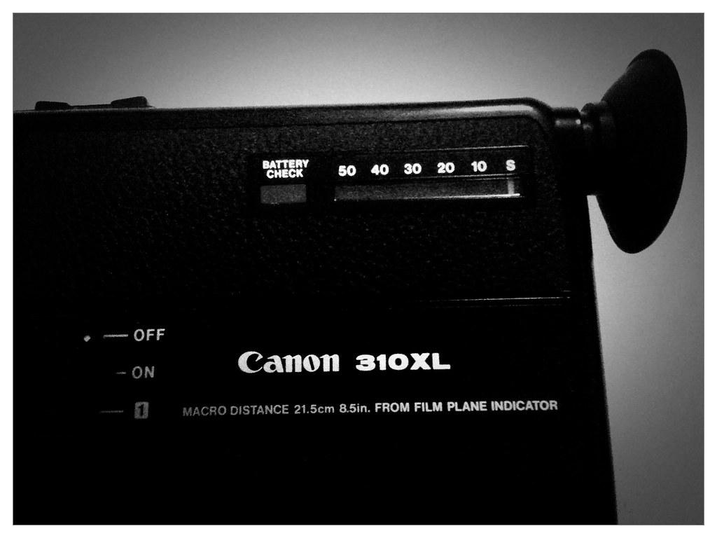 Canon 310xl Super 8 Cine Camera
