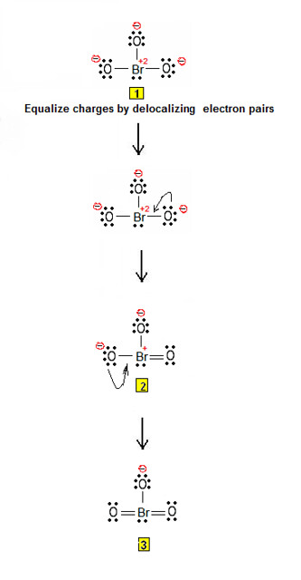 Bro3- : bro3-, Lewis, Structures, (BrO3)-1, Simple, Method, Drawing…, Flickr