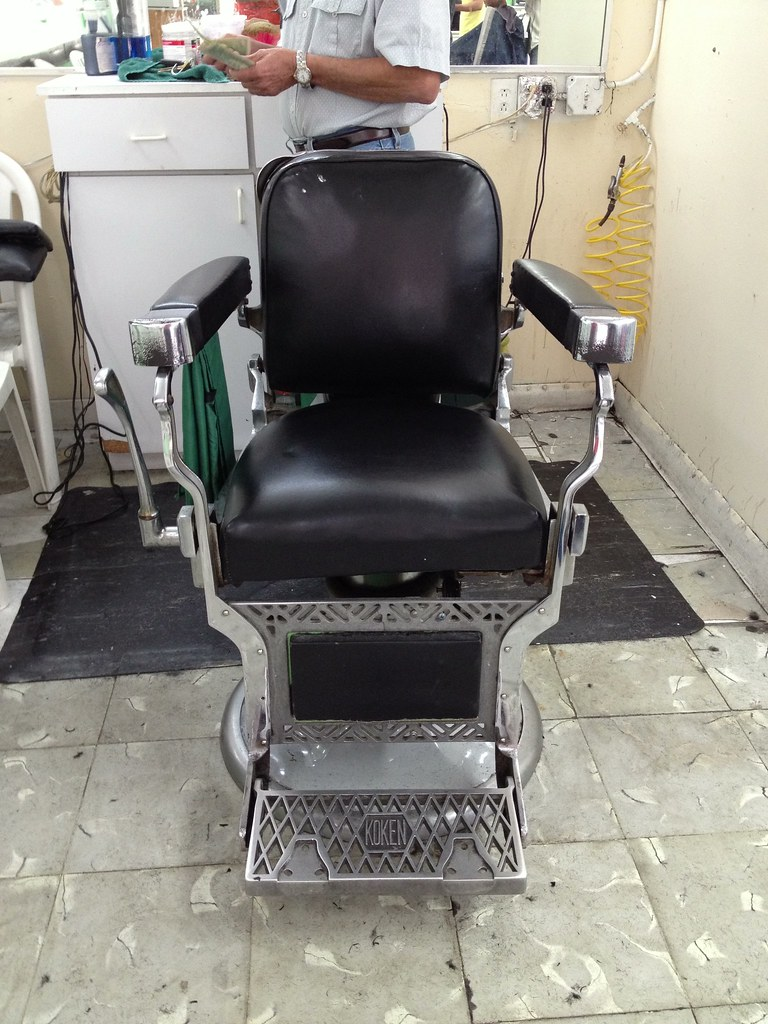 Koken Barber Chairs Old Koken Barber Chair Little Havana Phillip Pessar Flickr