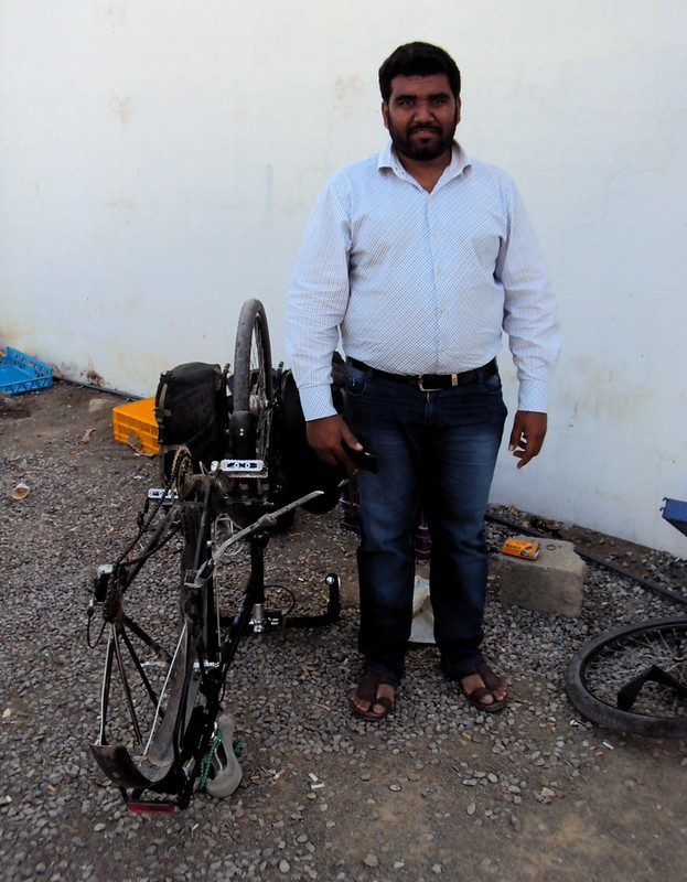 Danish from Pakistan and my first flat tire in Oman by bryandkeith on flickr