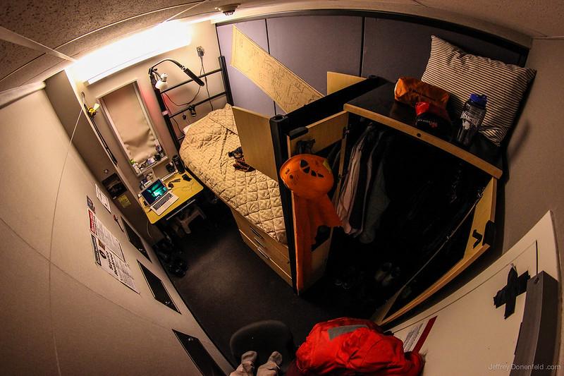 My Room at the Amundsen-Scott South Pole Station