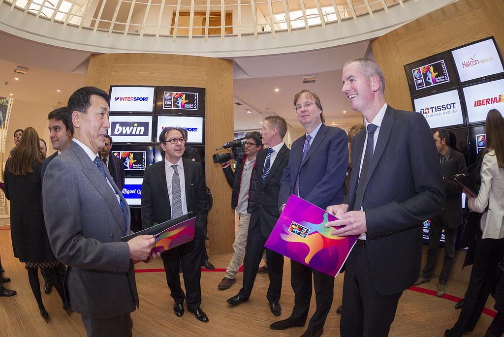 2014 Fiba Basketball World Cup Executive Summit Madrid S