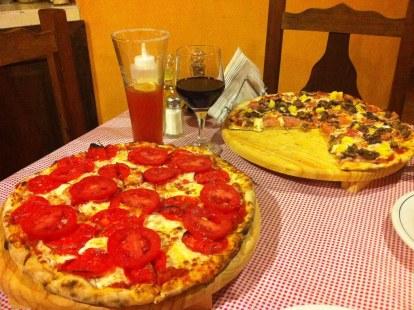 Good food at Il Picolo, San Cristobal