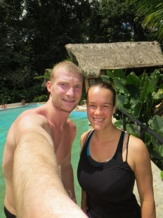Our free swimming pool in Palenque