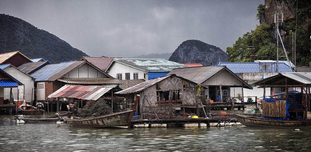Koh Panyee floating village
