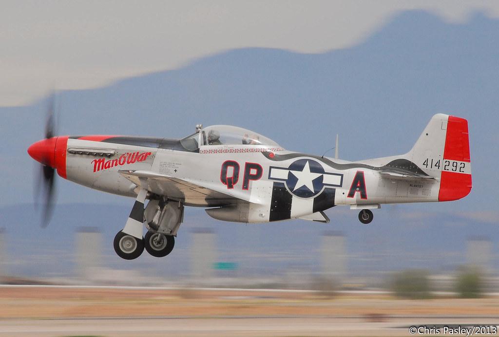 P51D Mustang Man O War NL44727  Williams Gateway Mesa