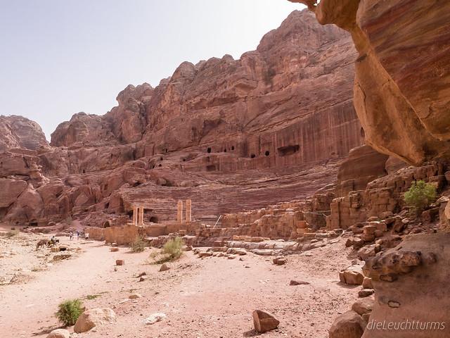The Roman Theatre in Petra
