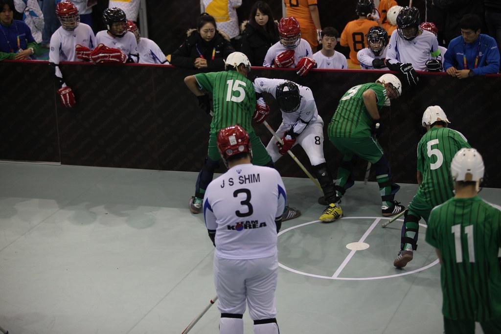Special Olympic Sports Program Floor Hockey South Korea