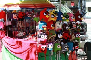 Angry birds hats . . . so tempting!