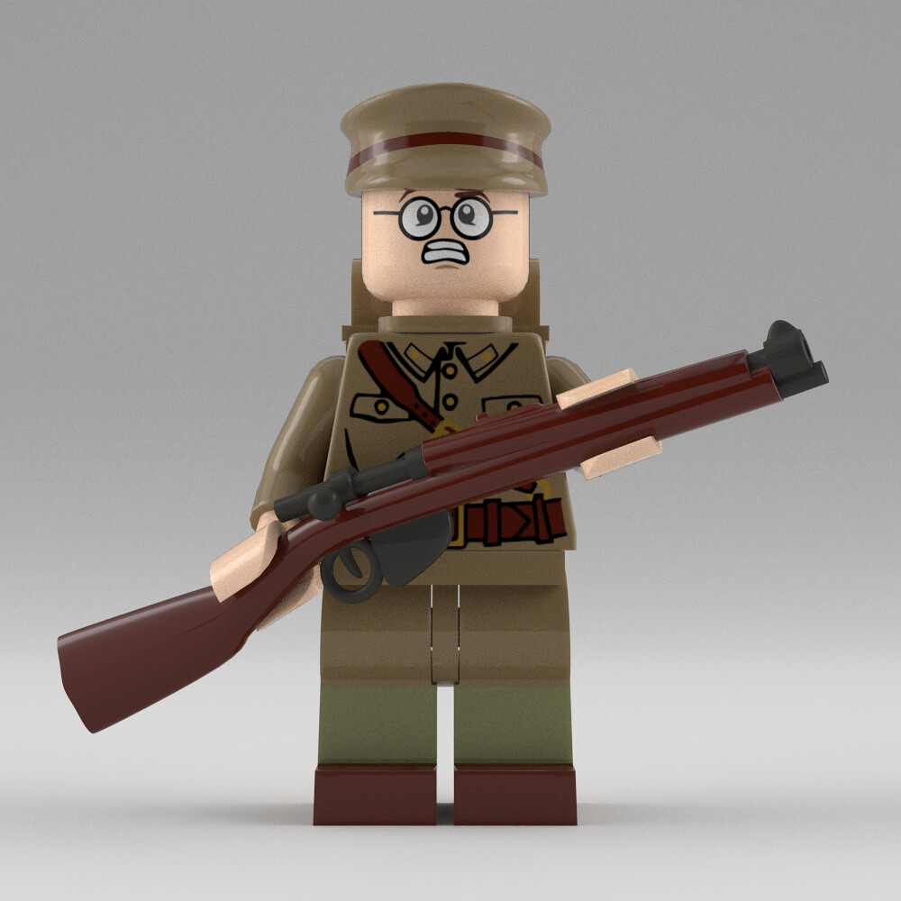Lego 1914 British Soldier | This is the Soldier model that I… | Flickr