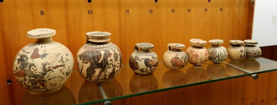 vasijas griegas cerámica Museo Alemán de Múnich Alemania 05