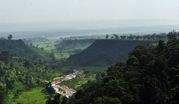 The river and the valley
