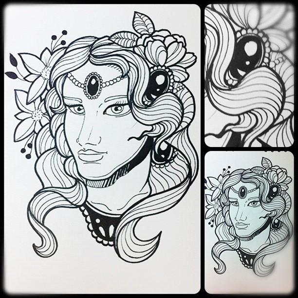 Algo De New Tradicional Design Diseño Women Girl G Flickr