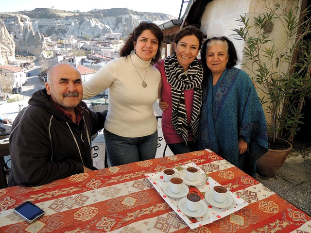 Nurgül with her parents and Ferda by bryandkeith on flickr