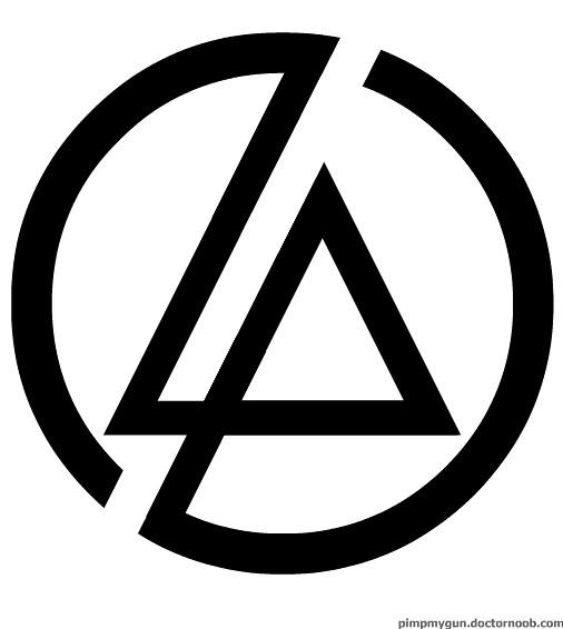 linkin park logo because