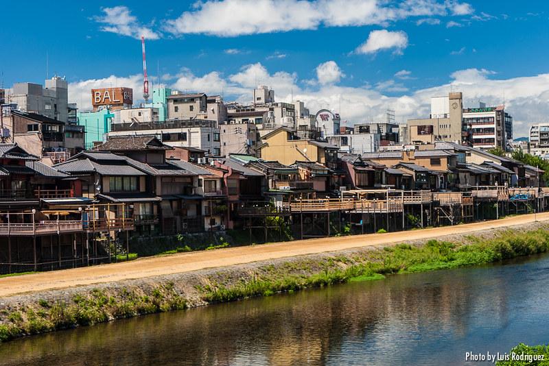Restaurants et terrasses sur la rivière Kamo