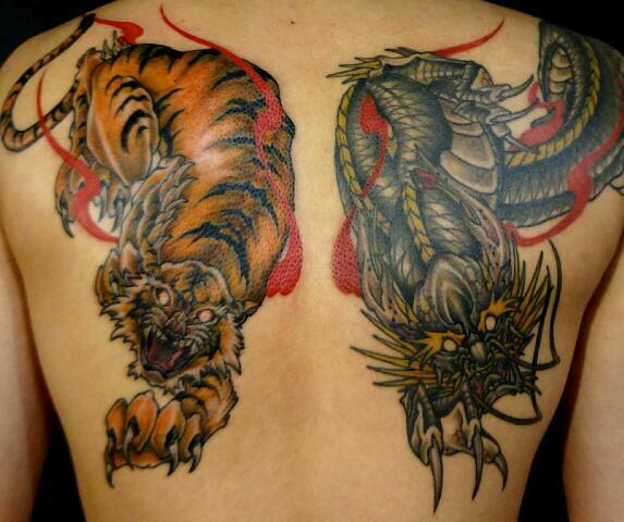 大阪 タトゥー 龍 虎 刺青   大阪福島區タトゥースタジオ TATTOO 1825 HP tattoo1825.com…   KIMIHITO KAWAHARA   Flickr