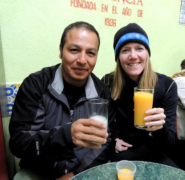 Probando pulque by bryandkeith on flickr