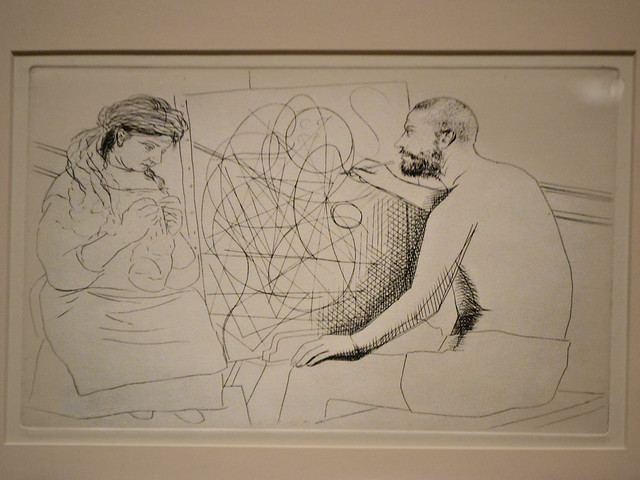 Picasso: Balzac Artist Illustration
