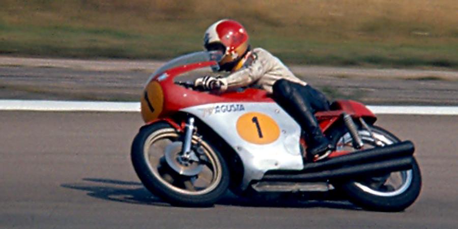 Giacomo Agostini  500ccMV Agusta  Taken at the