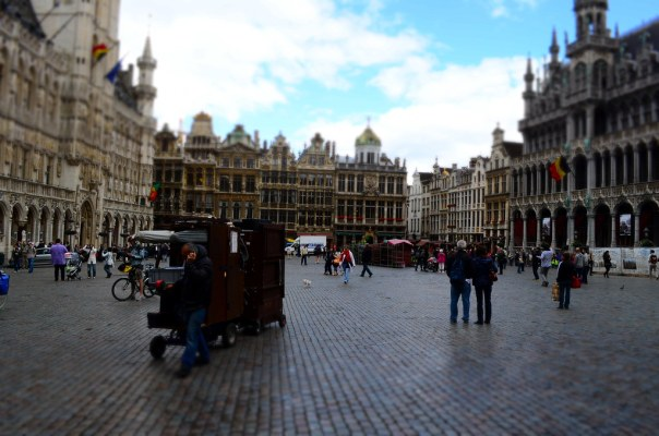 The Centre of Brussels