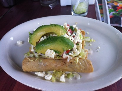 Tacos dorados, Stevens favorite mexican food