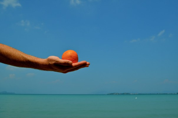 Orange Hand