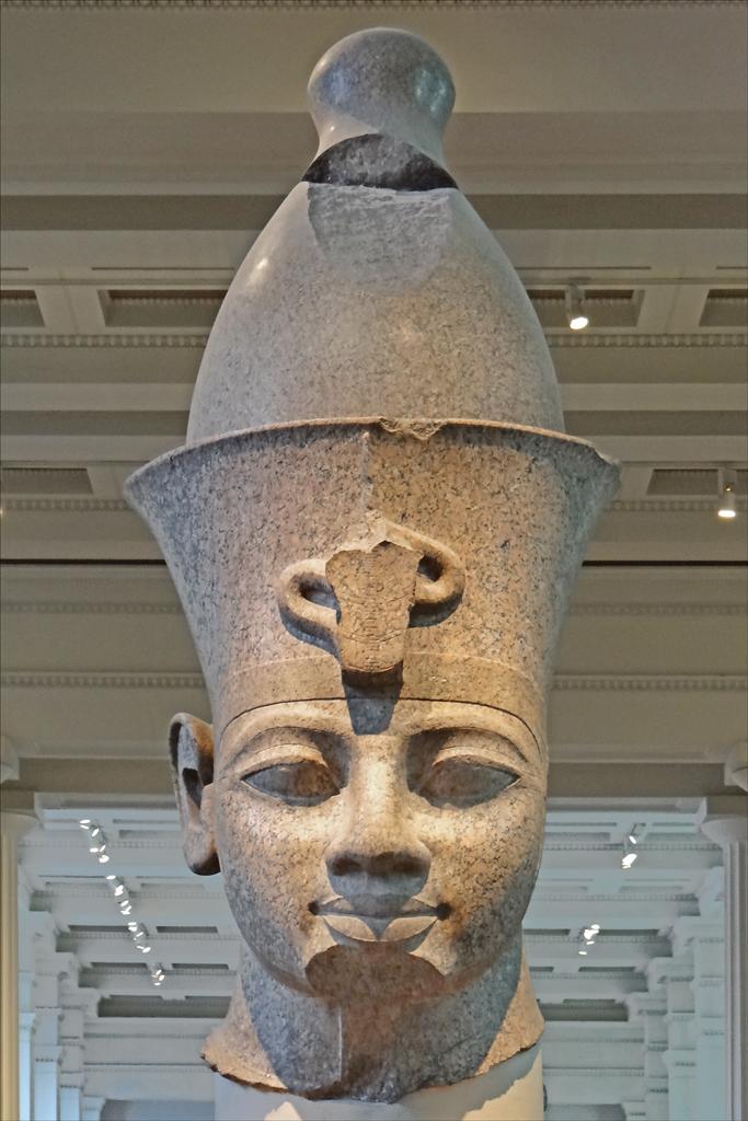 Amnophis III British Museum  Tte de la statue colossale  Flickr