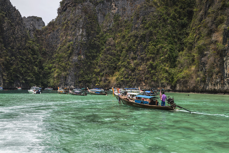 The Long Tail Boat at James Bond Island