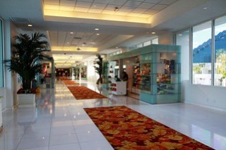 Tropicana Hotel connecting corridor