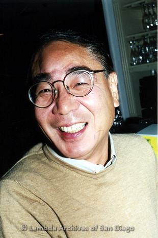 P040.016m.r.t SAGE General Meeting; smiling man