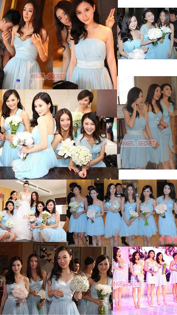 李小璐明星同款禮服 韓版伴娘服短款小禮服新娘結婚敬酒服2012新副本 | mrsclay | Flickr