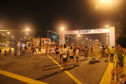 SAFRA Singapore Bay Run & Army Half Marathon 2012