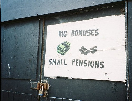Big Bonuses = Small Pensions