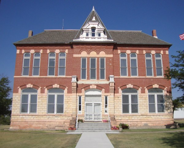 Logan County Kansas Courthouse - Year of Clean Water