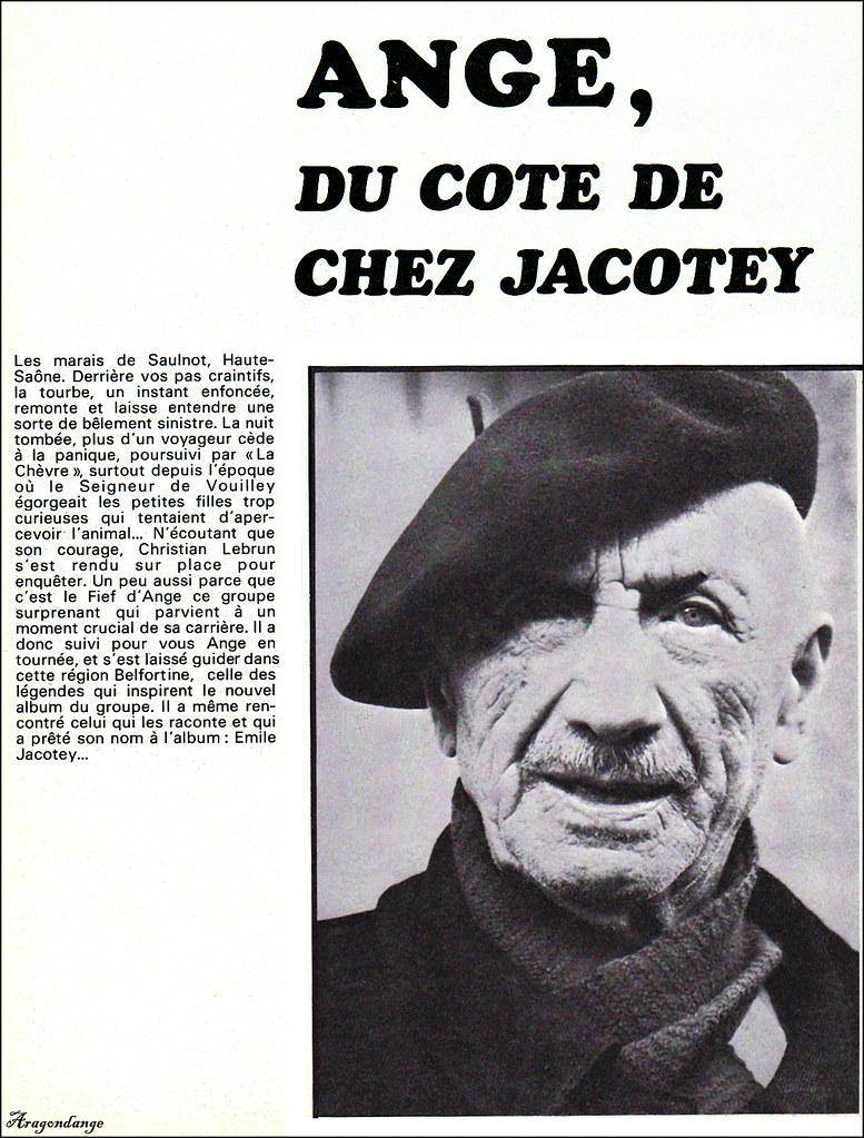 Ange (groupe) Albums : (groupe), albums, Groupe, époque, Emile, Jacotey, (1975), Aragondange, Flickr