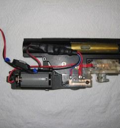 ks p90 ks90 version 6 gearbox mosfet installation by dethmarine21 [ 1024 x 768 Pixel ]