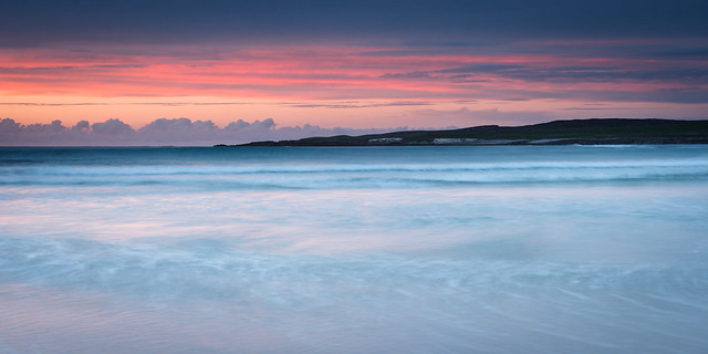 Dusk at Traigh Stir, North Uist