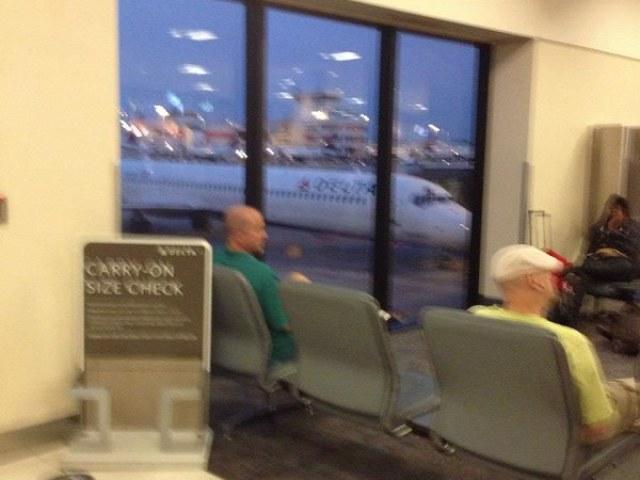 Saturday - Leaving Atlanta to begin the adventure