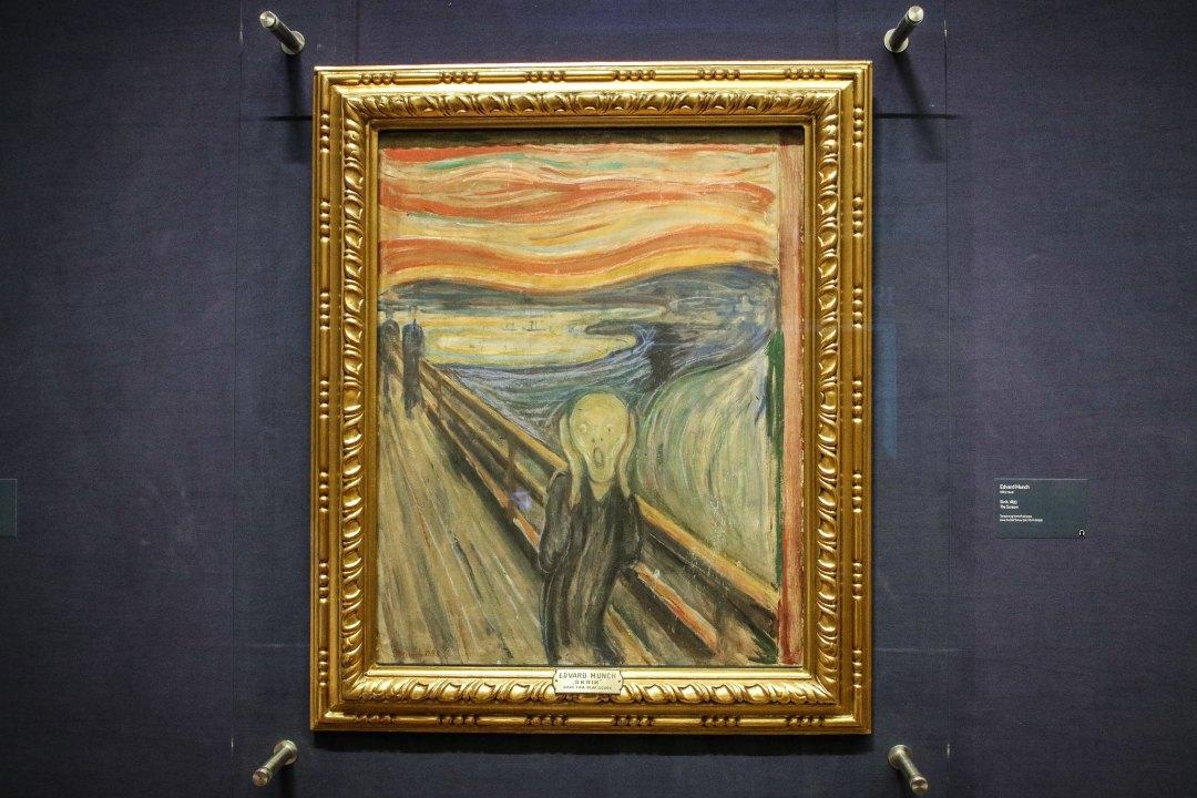 L'Urlo, Munch, Galleria Nazionale, Oslo