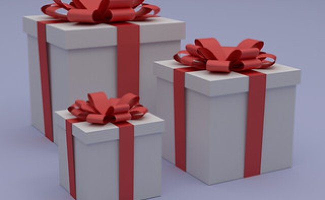 Gift Boxes Gift Boxes Modeled And Rendered With Blender