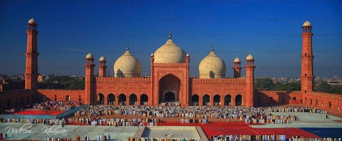 Badshahi Mosque, Lahore-Pakistan.