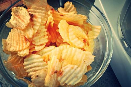 Potato Chip Chicken Strips