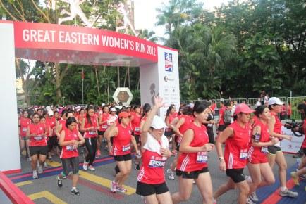 Great Eastern Women's Run 2012
