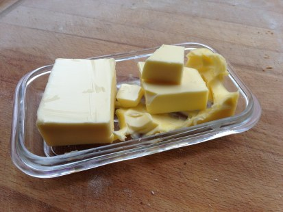 I think my butter dish has had a cubist breakdown